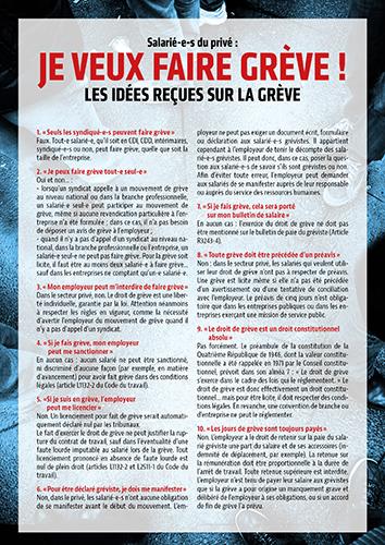 Pour réussir le 9 mars : si on parlait du droit de grève ! - Blog INSOUMIS.